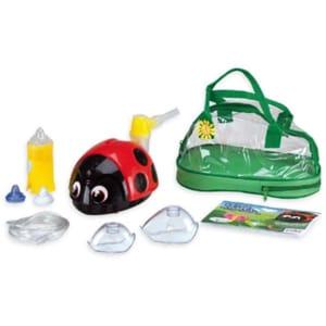 Aparat aerosoli cu piston FLAEM NUOVA Ladybug FLAEMCO03P00, 8ml, rosu-negru