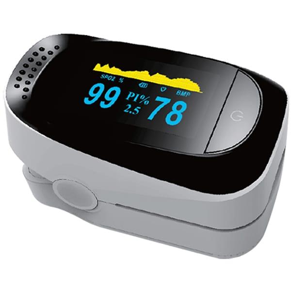 Pulsoximetru EASYCARE EASY00136, baterie, negru