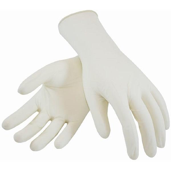 Manusi de unica folosinta CARE PROTECT, latex, marime L, 100 buc