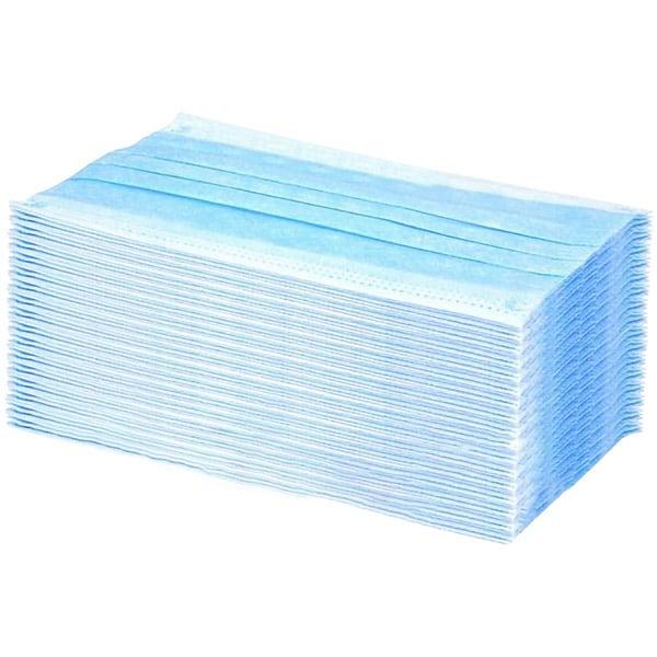 Set masti de protectie PHT14045, FFP2, 3 straturi, 50 bucati, albastru