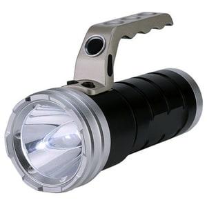 Lanterna metalica cu LED HOME MFL 06, 1 LED 4 W CREE, negru-argintiu