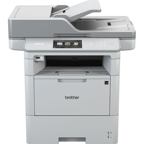 Multifunctional laser monocrom BROTHER MFC-L6900DW, A4, USB, Retea, Wi-Fi, NFC, Fax