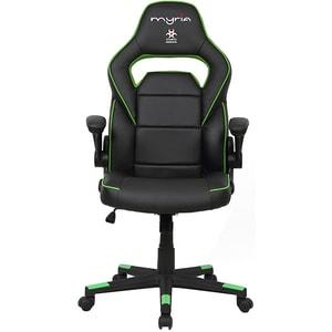 Scaun gaming MYRIA MG7404GR, negru-verde