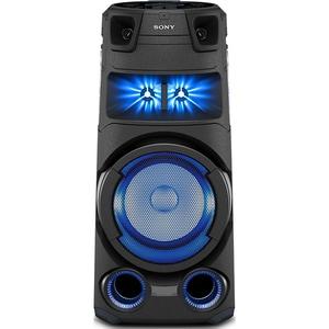 Sistem audio SONY MHC-V73D, Bluetooth, LDAC, Jet bass booster, FM, Party music, negru