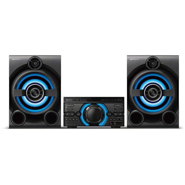 Sistem audio High Power SONY MHC-M60D, Bluetooth, USB, DVD, Party music, Party lights, Dj Effects, Iluminare, negru