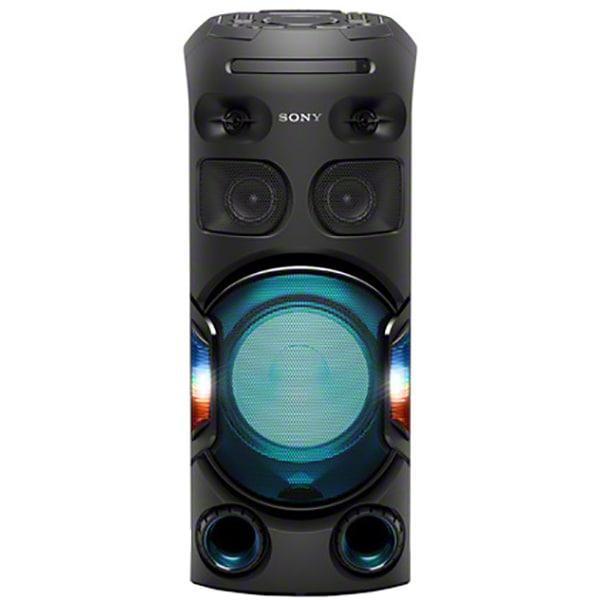 Sistem audio High Power SONY MHC-V42D, Bluetooth, NFC, USB, DVD, Jet BASS Booster, Party speaker, Iluminare, negru