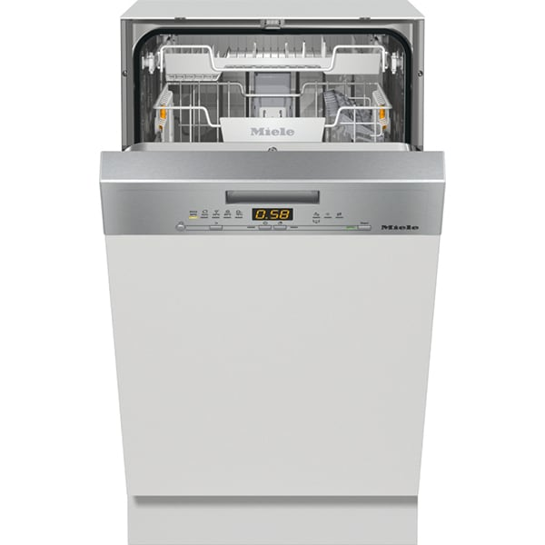 Masina de spalat vase semi-incorporabila MIELE G 5430 SCI EDST/CLST, 9 seturi, 5 programe, Clasa A+, inox