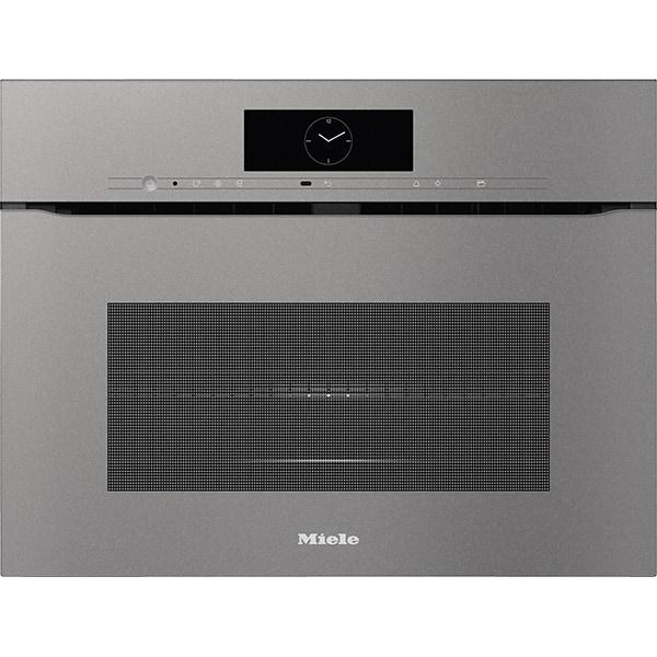 Cuptor incorporabil combi cu microunde MIELE H 7840 BMX, 43 l, Miele home, Wi-Fi, gri