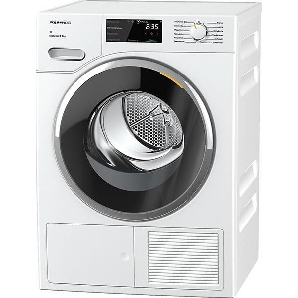 Uscator de rufe MIELE TWF 640 WP, Pompa de caldura, 8 kg, 12 programe, Clasa A+++, alb