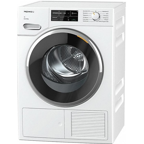 Uscator de rufe MIELE TWJ 660 WP, Pompa de caldura, Wi-Fi, 9 kg, 19 programe, Clasa A+++, alb