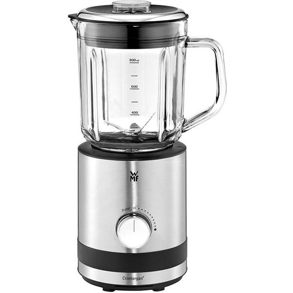 Blender WMF Kitchenminis 416490011, 0.8l, 400W, 5 trepte viteza, argintiu-negru