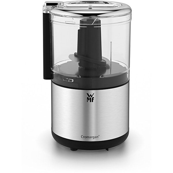 Mini tocator WMF Kitchenminis 416580011, 0.3l, 65W, 1 treapta viteza, argintiu-negru