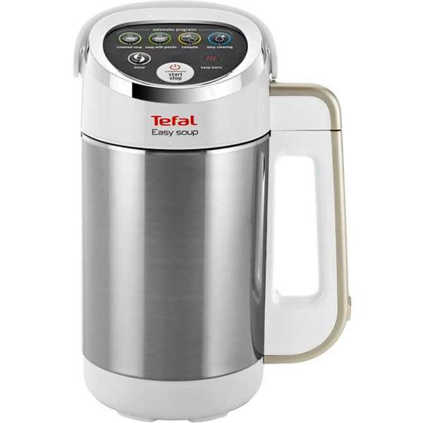 Blender cu functii de gatire TEFAL Easy Soup BL841138, 1.2l, 1000W, alb-argintiu
