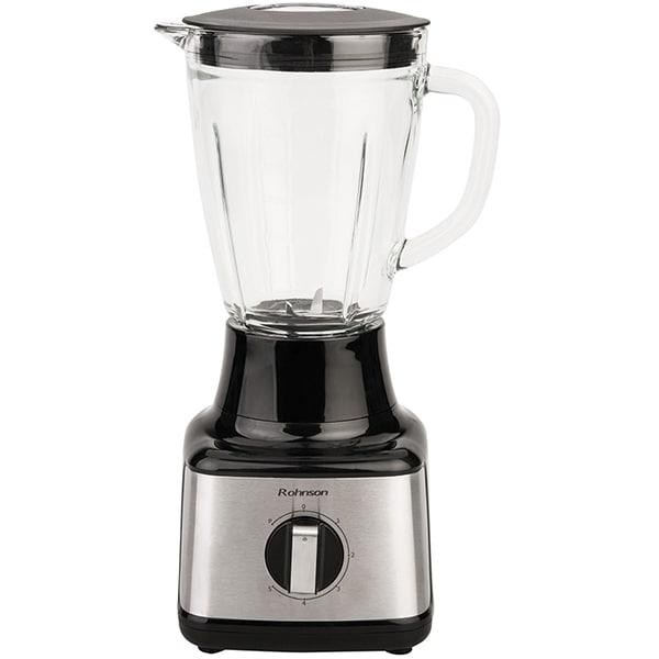 Blender ROHNSON R5300, 1.5l, 500W, viteza variabila, argintiu-negru