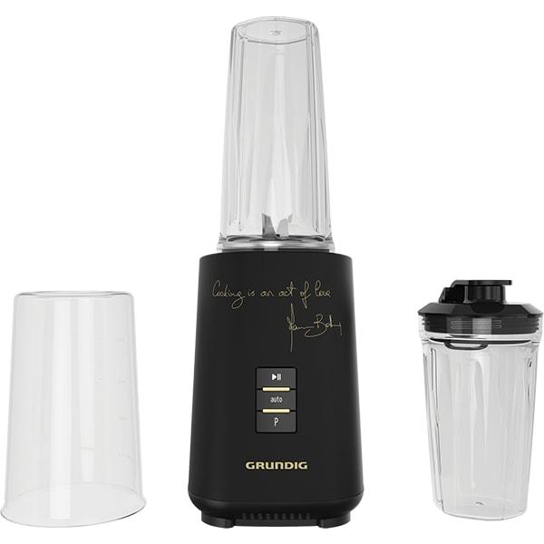 Blender GRUNDIG Massimo Bottura SM7680MBC, 0.71l, 1000W, viteza variabila, negru