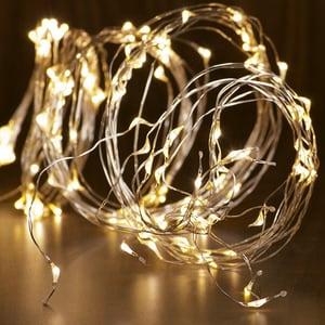 Ghirlanda luminoasa HOME ML 200/WW, 10 ramuri, 20 micro led-uri, 1.9m, iluminare alb cald