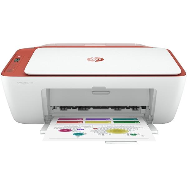 Multifunctional inkjet color HP DeskJet 2723, A4, USB, Wi-Fi, alb
