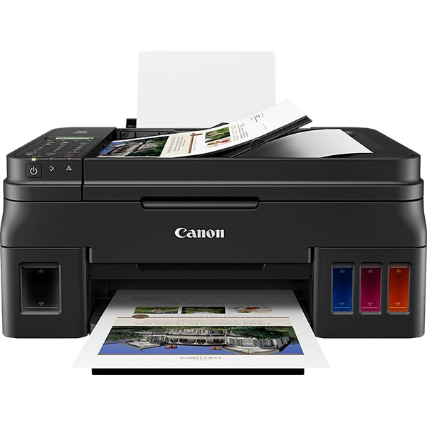 Multifunctional inkjet color CANON Pixma G4411 CISS, A4, USB, Wi-Fi, Fax