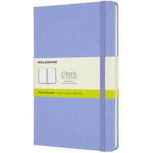 Carnet notite MOLESKINE Hydrangea Hard Notebook, Large, velina, 120 file, albastru deschis
