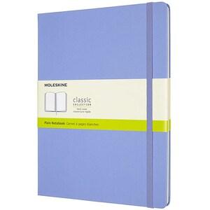 Carnet notite MOLESKINE Hydrangea Hard Notebook, velina, Extra Large, 120 file, albastru deschis