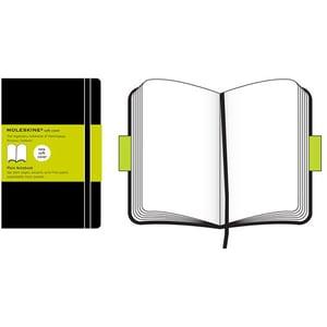 Carnet notite MOLESKINE Plain Soft Notebook, velina, pocket, 96 file, negru