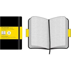 Carnet notite MOLESKINE Squared Soft Notebook, matematica, Large, 96 file, negru