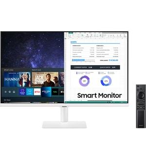 "Monitor LED VA SAMSUNG LS27AM501NUXEN, 27"", Full HD, Flicker Free, HDR10, alb"
