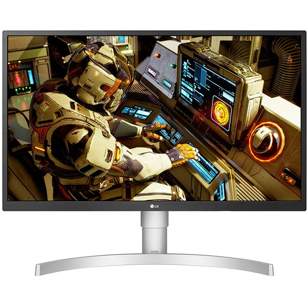 "Monitor LED IPS LG 27UL550-W, 27"", 4K UHD, HDR 10, Radeon FreeSync, 60Hz, alb"