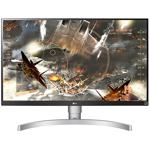"Monitor LED IPS LG 27UL650-W, 27"", 4K UHD, HDR 400, Radeon FreeSync, 60Hz, alb"