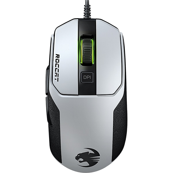 Mouse Gaming ROCCAT Kain 102 AIMO, 8500 dpi, alb