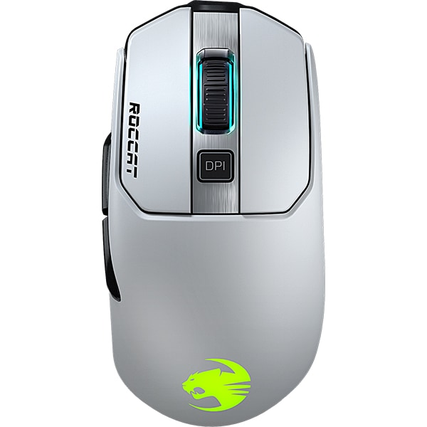 Mouse Gaming Wireless ROCCAT Kain 202 AIMO, 16000 dpi, alb