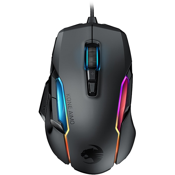 Mouse Gaming ROCCAT Kone AIMO REMASTERED, 16000 dpi, negru