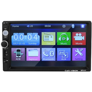 Media receiver auto CAR VISION MP5-01, 4 x 45W Touch, Bluetooth, USB, MirrorLink