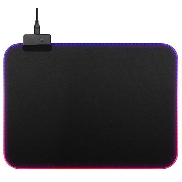 Mouse pad gaming MYRIA SquadMate MG7412 RGB, marimea M, negru