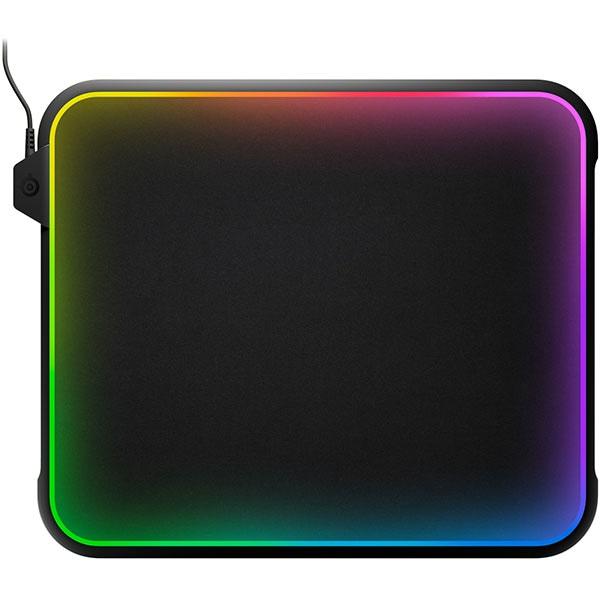 Mouse Pad Gaming STEELSERIES QcK Prism, RGB, negru