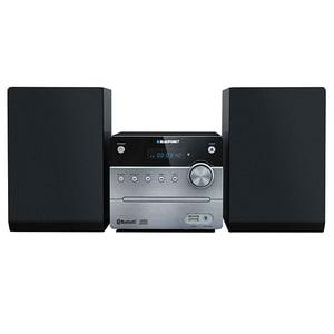 Microsistem audio BLAUPUNKT MS12BT, 10W, Bluetooth, USB, CD, Radio FM, negru