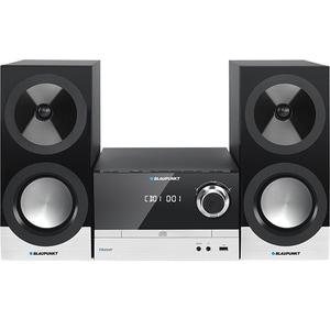 Microsistem audio BLAUPUNKT MS40BT, 100W, Bluetooth, USB, CD, Radio FM, negru