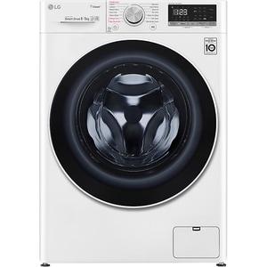 Masina de spalat rufe frontala cu uscator LG F4DN408S0, 6 Motion, Wi-Fi, 8/5kg, 1400rpm, Clasa D, alb