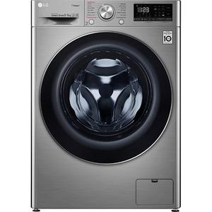 Masina de spalat rufe frontala cu uscator LG F4DN409S2T, 6 Motion, Wi-Fi, 9/5kg, 1400rpm, Clasa A, argintiu