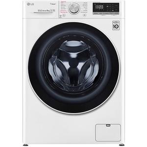Masina de spalat rufe frontala LG F4WN409S0, 6 Motion, Wi-Fi, 9kg, 1400rpm, Clasa D, alb