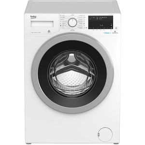 Masina de spalat rufe frontala BEKO WTV9636XS0, HomeWhiz, 9kg, 1200rpm, Clasa A+++, alb