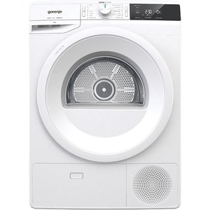 Uscator de rufe GORENJE DE82/G, Pompa de caldura, 8kg, 16 programe, Clasa A++, alb