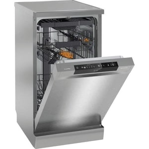 Masina de spalat vase independenta GORENJE GS54110X, 10 seturi, 5 programe, 45 cm, clasa A++, argintiu