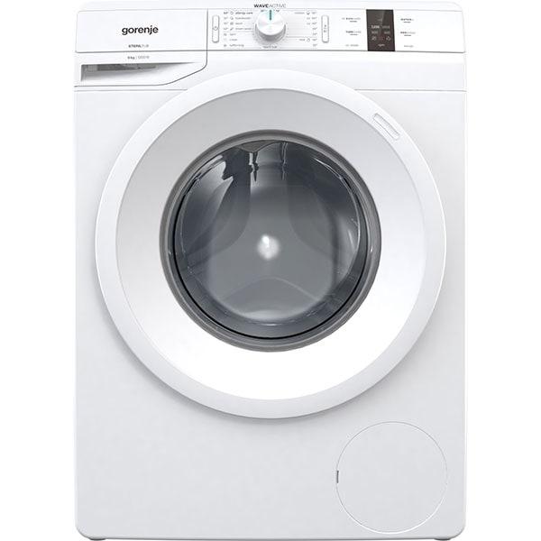 Masina de spalat rufe frontala GORENJE WP62S3, WaveActive, 6 kg, 1200rpm, Clasa D, alb