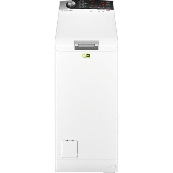 Masina de spalat rufe verticala AEG LTX8C373E, OkoMIX, ProSteam, 7 kg, 1300rpm, Clasa D, alb