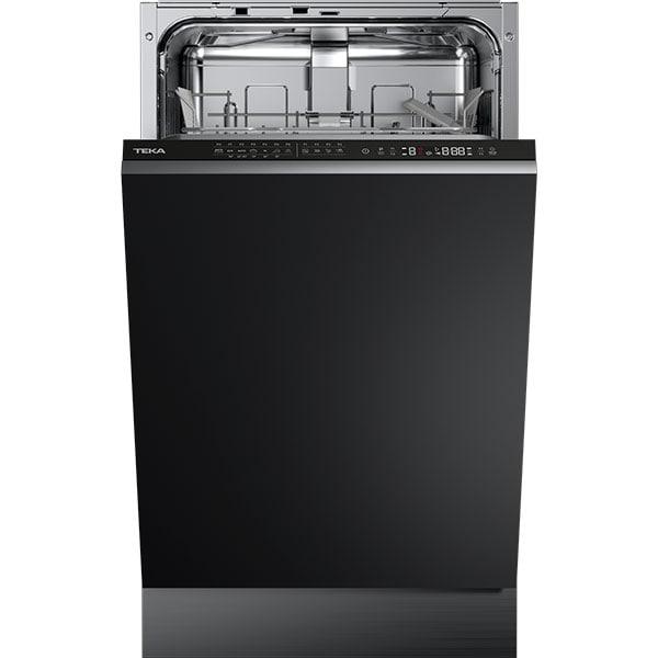 Masina de spalat vase incorporabila TEKA DFI 44700, 10 seturi, 7 programe, 45 cm, Clasa E, negru