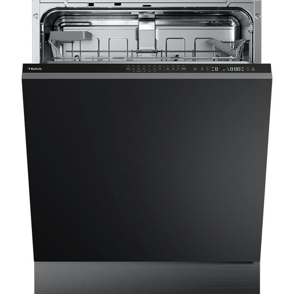 Masina de spalat vase incorporabila TEKA DFI 46700, 14 seturi, 7 programe, 60 cm, Clasa E, negru