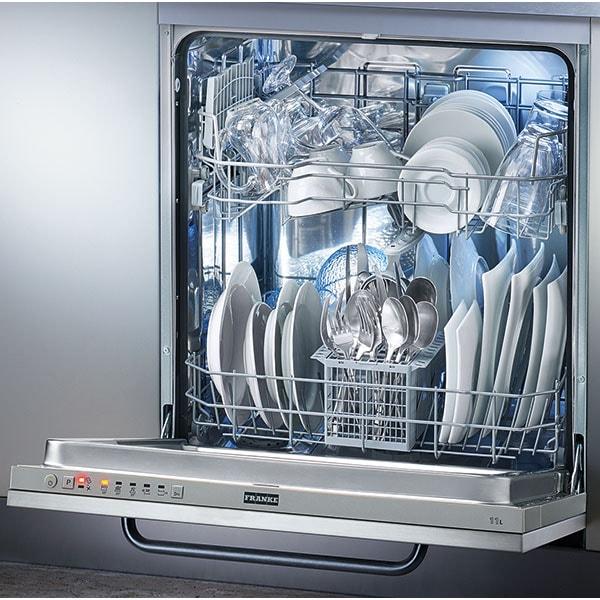 Masina de spalat vase incorporabila FRANKE FDW 613 E5P, 13 seturi, 5 programe, 60 cm, Clasa F, argintiu inchis