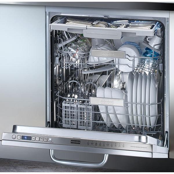 Masina de spalat vase incorporabila FRANKE FDW 614 D10P DOS LP, 14 seturi, 10 programe, 60 cm, Clasa C, argintiu inchis