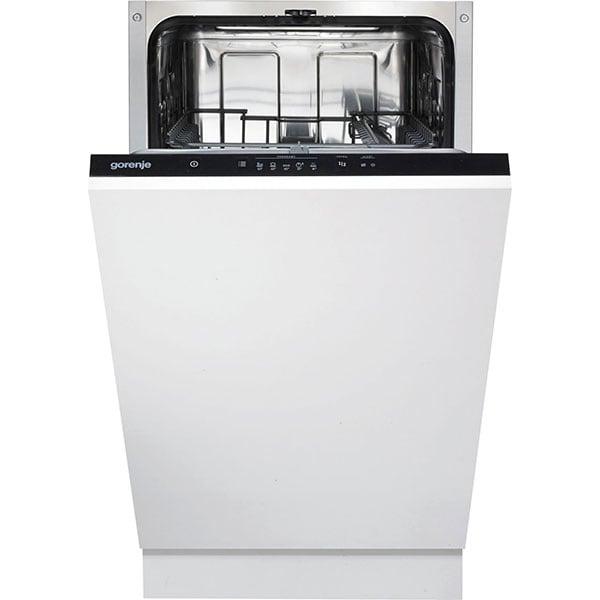 Masina de spalat vase incorporabila GORENJE GV52010, 9 seturi, 5 programe, 45 cm, clasa A++